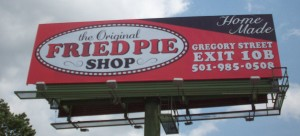 Fried Pies Billboard ACE Signs of Arkansas