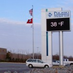 Pulaski Tech LED Sign